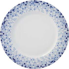 Блюдо мелкое Opal, декор «Мозайка» 30 см