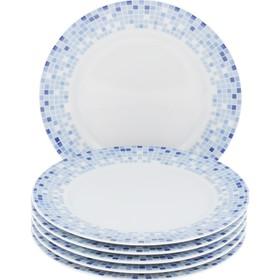 Тарелка десертная Opal «Мозайка», 19 см