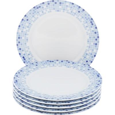 Тарелка десертная Opal, декор «Мозайка», 19 см - Фото 1