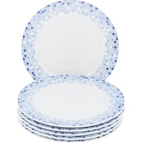 Тарелка мелкая Opal «Мозайка», 21 см