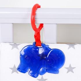 Подвеска «Бегемот», цвет синий, 15 см.