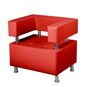 """Кресло """"Борк"""", красный глянец"""