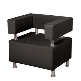 """Кресло """"Борк"""", черный глянец"""
