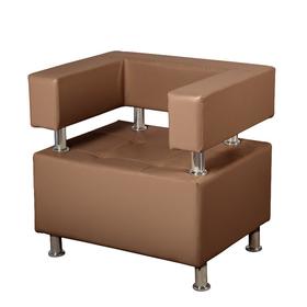 """Кресло """"Борк"""", коричневый"""