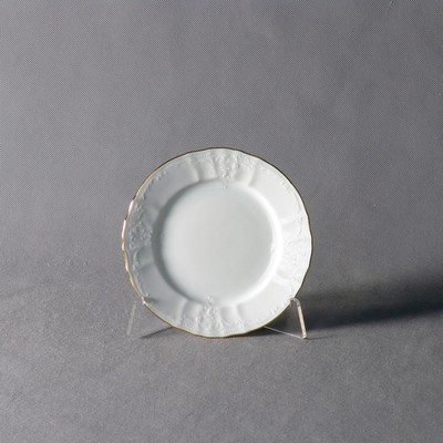Тарелка десертная Bernadotte, декор «Отводка золото», 17 см - Фото 1