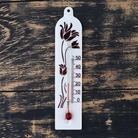 Термометр сувенирный комнатный 'Модерн', микс,  в картонной упаковке Ош