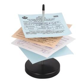 Игла настольная для чеков и билетов BRAUBERG, 13,5*7*7 см., металлическая подставка 237000 Ош