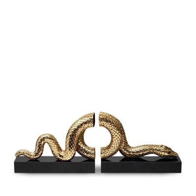 """Держатель для книг """"Змея"""" gold - Фото 1"""