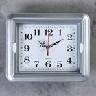 "Часы настенные, серия: Классика, ""Янита"",  22х3х18 см, 1 АА,  плавный ход"