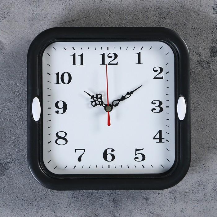 Часы настенные, серия Классика, Эшли, d18.5 см, 1 АА, плавный ход, микс