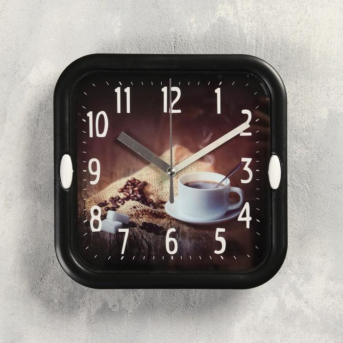 Часы настенные, серия Кухня, Зёрна, d18.5 см, 1 АА, плавный ход , микс