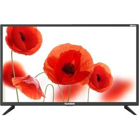 """Телевизор Telefunken TF-LED32S95T2, 31.5"""", 1366х768, DVB-T2/C, 2хHDMI, 1хUSB, черный"""