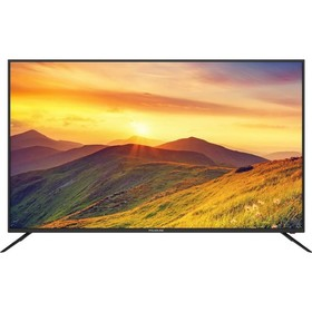 "Телевизор Polarline 58PU55STC-SM, 58"", UHD, DVB-T2/C/S2, 3хHDMI, 2хUSB, SmartTV, чёрный"