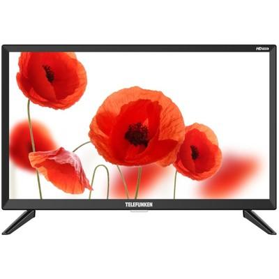 """Телевизор Telefunken TF-LED24S74T2, 23.6"""", 1366х768, DVB-T2/C, 2хHDMI, 1хUSB, черный"""