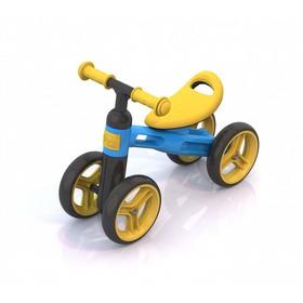 Беговел «Нордпласт», цвет жёлто-голубой Ош