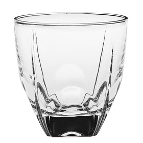 Набор хрустальных стаканов для виски, коньяка, рома Fjord, 6 шт., 270 мл