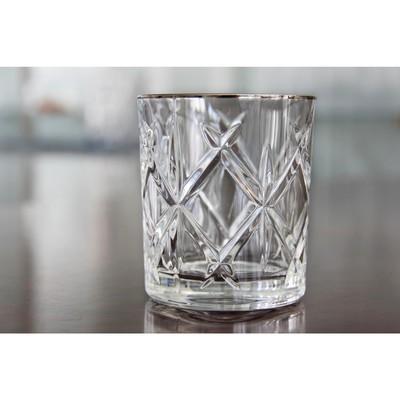 Стакан для виски York Platinum, 4 шт., 320 мл