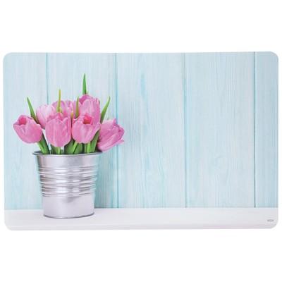 Подставка под горячее «Тюльпаны» 43.5×28×0.07 см