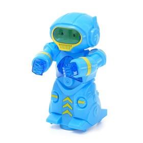 Робот «Космобот», световые и звуковые эффекты, работает от батареек, цвета МИКС, в пакете Ош
