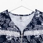 Халат женский, цвет синий МИКС, размер 56 - Фото 2