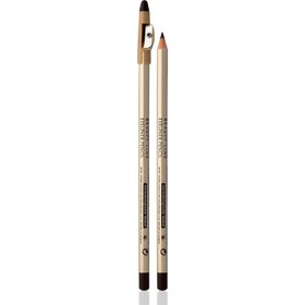 Карандаш для глаз Eveline Eyeliner Pencil, с точилкой, тон коричневый
