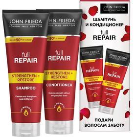 Набор John Frieda Full Repair «Восстановление»: Шампунь, 250 мл, Кондиционер, 250 мл
