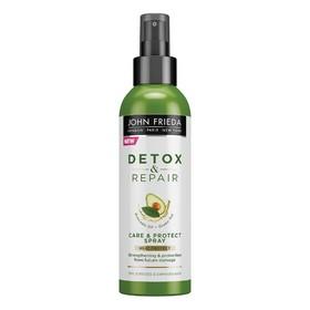 Спрей для волос John Frieda Detox & Repair, для укрепления волос, с термозащитой, 200 мл