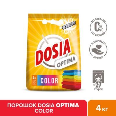 Стиральный порошок Dosia Optima Color, 4 кг - Фото 1
