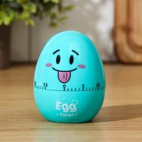 Кухонный таймер (мех) «Весёлое яйцо», 6,5×8 см, цвет МИКС Ош