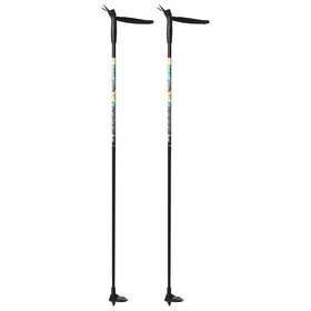Палки лыжные стеклопластиковые, 105 см Ош