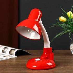 Светильник настольный UT-221 E27 40Вт на подставке красный 27,5х37х14 см