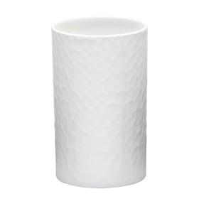 Стаканчик для ванных принадлежностей Crimp, белый