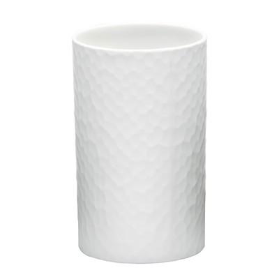 Стаканчик для ванных принадлежностей Crimp, белый - Фото 1