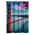 Штора для ванных комнат Golden Gate Bridge, 180х200 см
