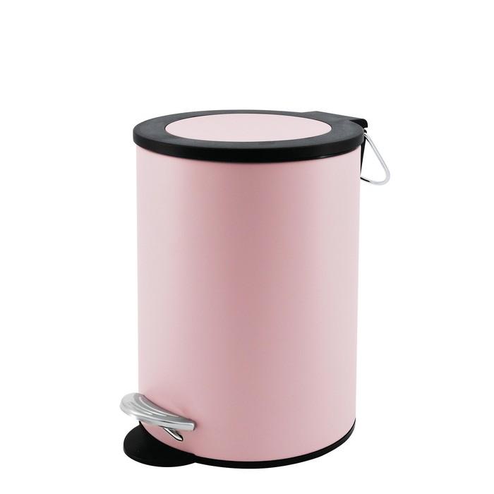 Ведро для мусора Beaute 3 л, цвет розовый