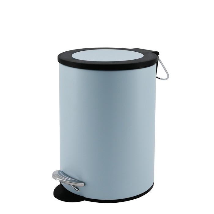 Ведро для мусора Beaute 3 л, цвет голубой