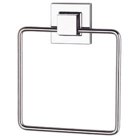 Держатель для полотенца квадрат самоклеящийся, цвет хром, EF234