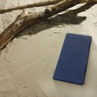 Коврик противоскользящий Basic, цвет синий, 36х71 см, Aqm - Фото 2