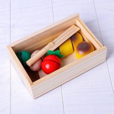 Деревянная игрушка «Вкусный завтрак» - Фото 1