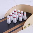 Деревянная игрушка «Боулинг», 30×11,5×5 см - Фото 2