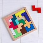 Деревянная игрушка «Головоломка», 15 деталей, 14,5×14см - Фото 2