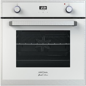 Духовой шкаф KRONA ADRIANO 60 WH, электрический, 57 л, 8 режимов, 60 см, белый