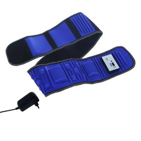 УЦЕНКА Массажёр LuazON LMZ-016 для похудения, пояс, 128 см, пульт в комплекте, синий