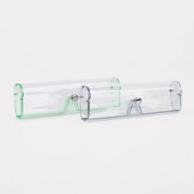 Футляр для очков, 15 × 2,5 × 4,5 см, цвет МИКС Ош