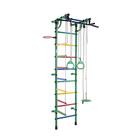 ДСК «Гамма», 640 × 525 × 2300 мм, цвет зелёный/радуга