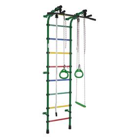 ДСК «Непоседа», 640 × 525 × 2300 мм, цвет зелёный/радуга