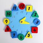 Развивающая игра «Часы.Геометрия»
