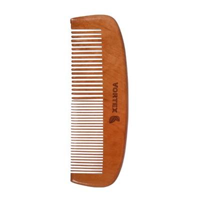 Расчёска-гребень Vortex деревянная, 16 см - Фото 1