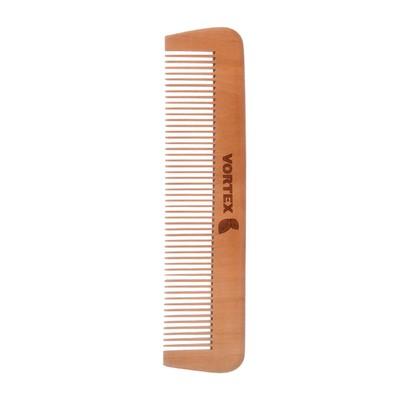 Расчёска-гребень Vortex деревянная, 17см - Фото 1