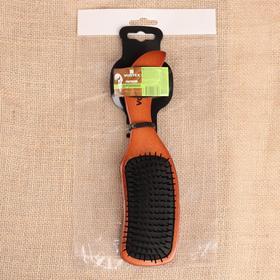 Расчёска массажная  Vortex «Волна», с пластиковыми зубчиками